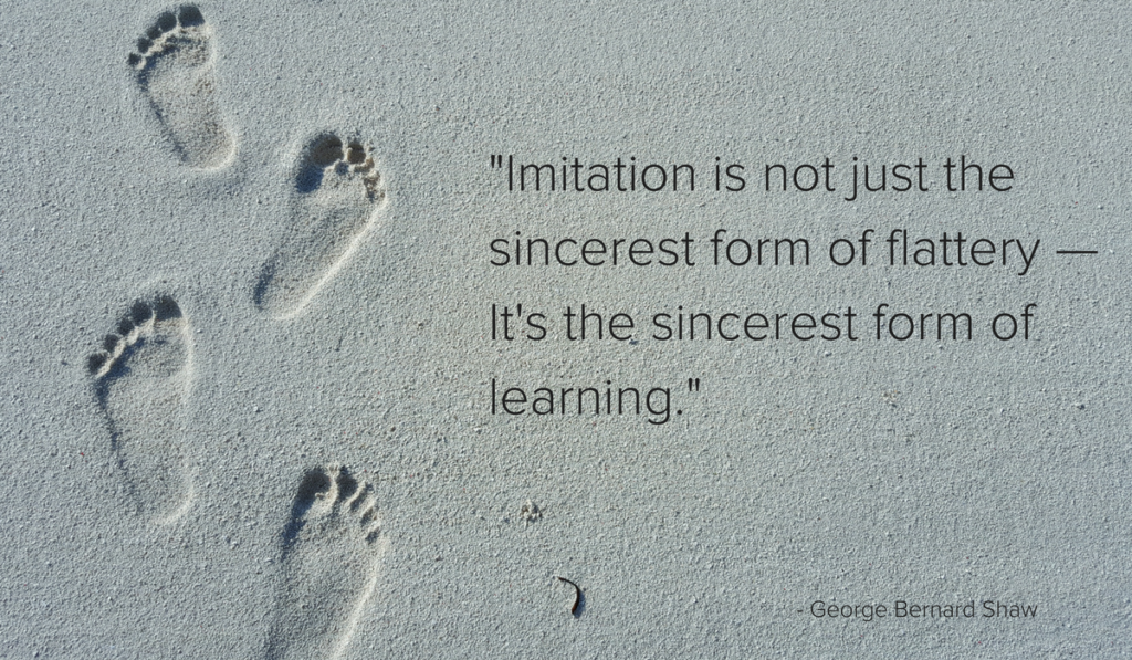 why imitation is smart