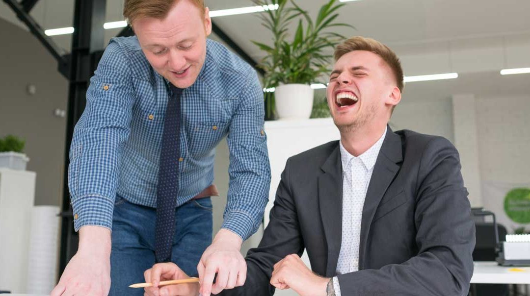 Sales Isn't A Laughing Matter. But Maybe It Should Be?