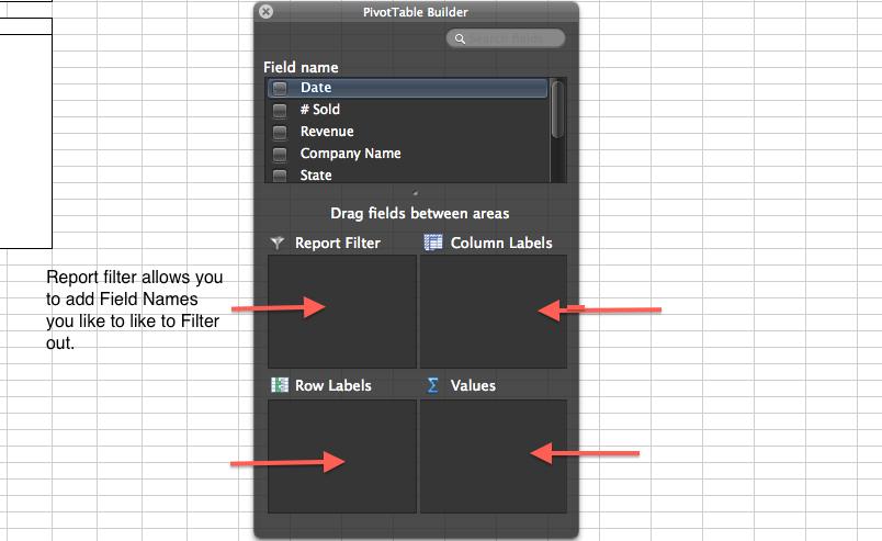 Report Filter