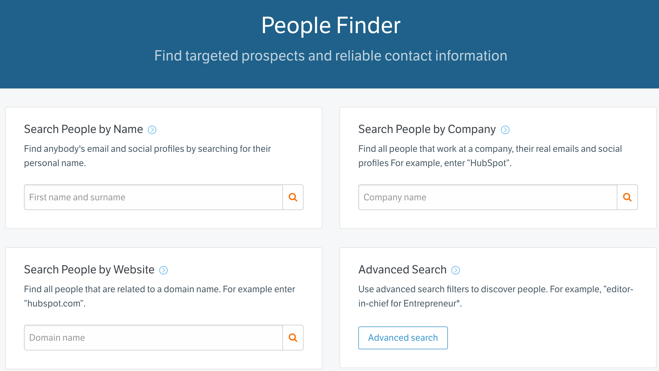 find email addresses