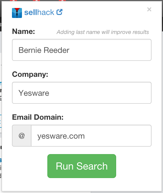 Email Address Search