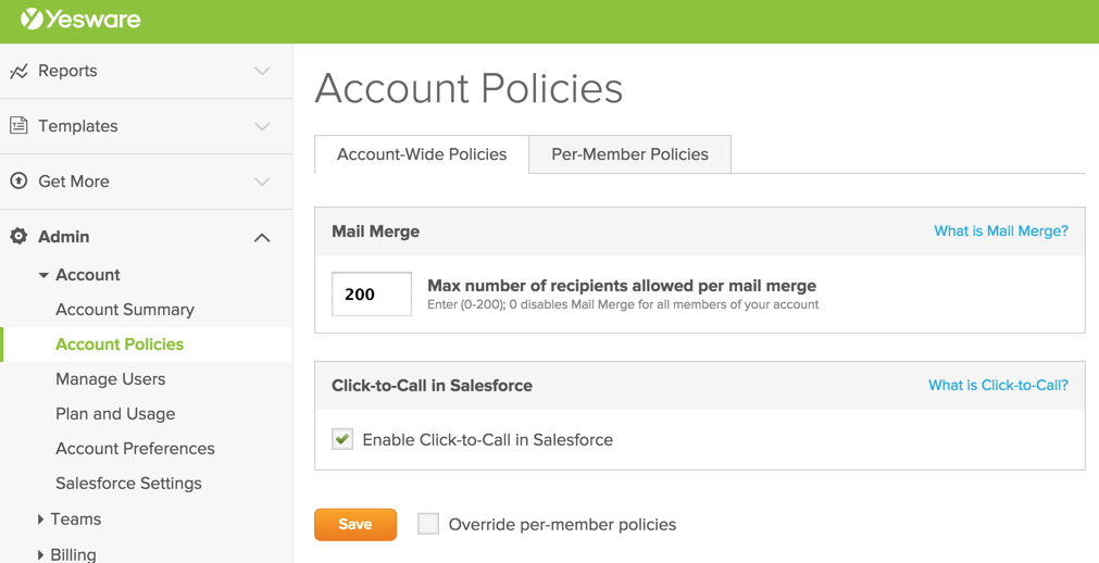 click-to-call salesforce