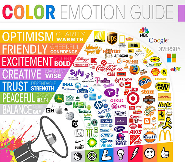 social selling color emotion