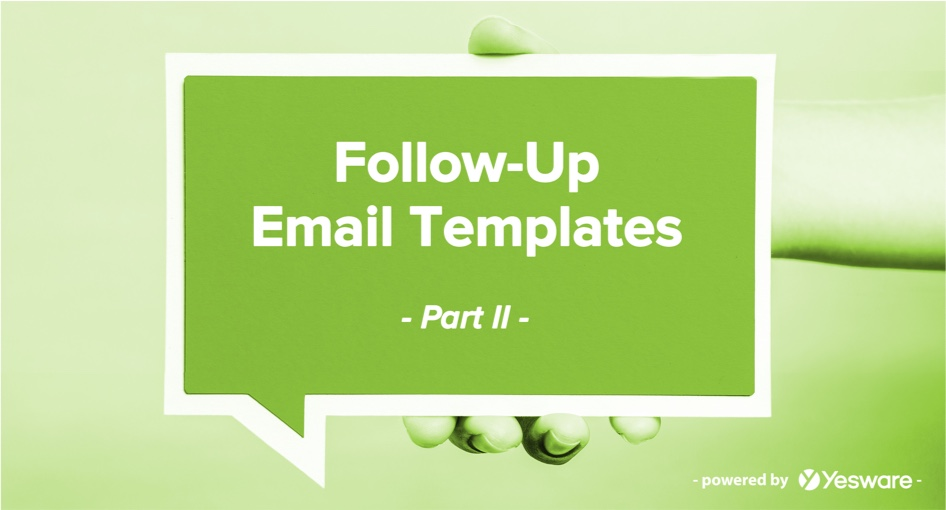 Follow-Up Email Templates