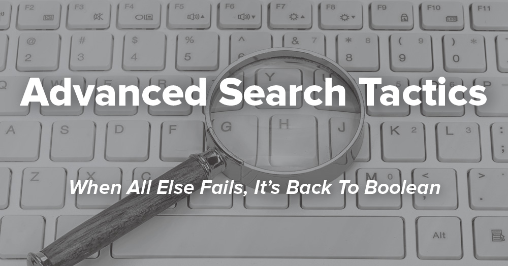 Email Search Tactics
