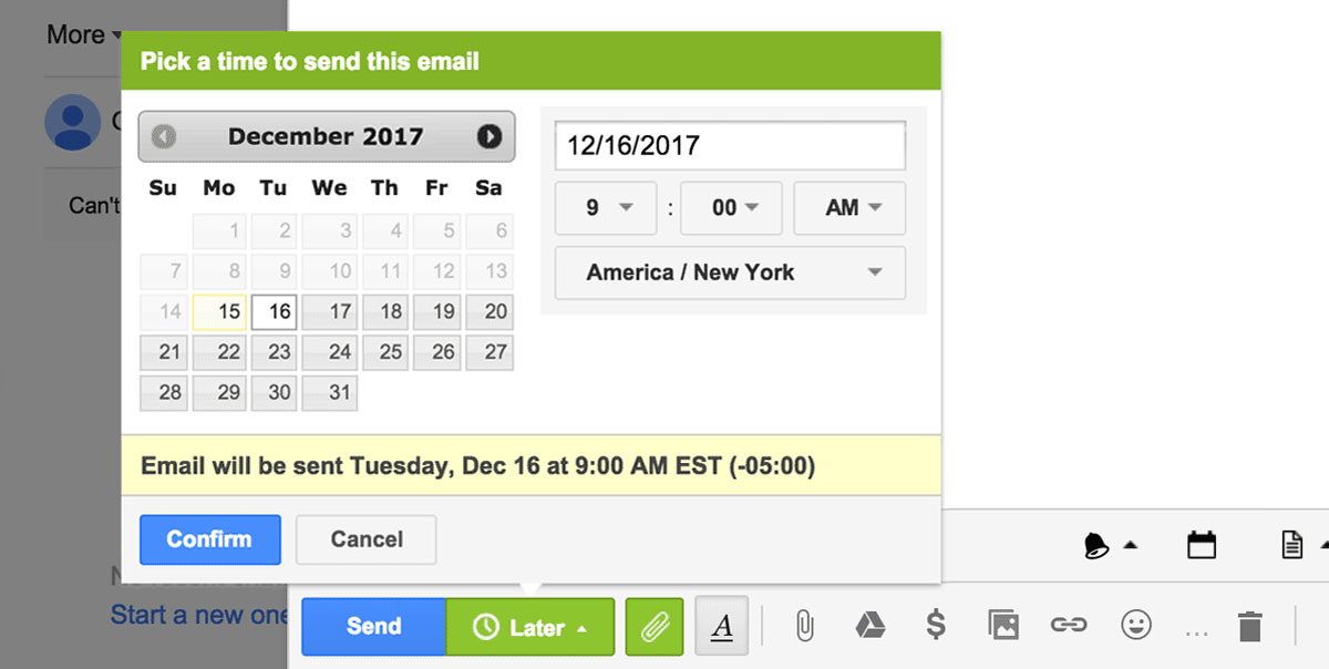 Gmail Schedule Send: How to Make Your Life Easier With Gmail Send Later