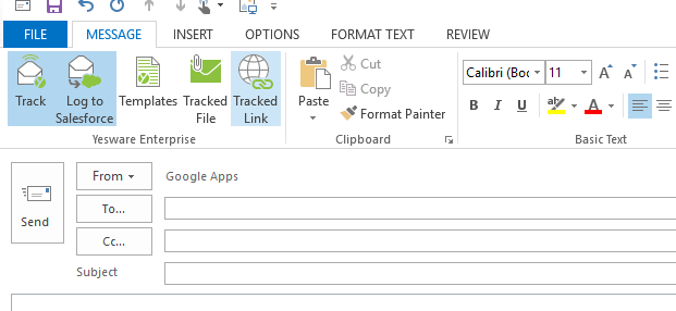 Link Tracking for Outlook | Yesware
