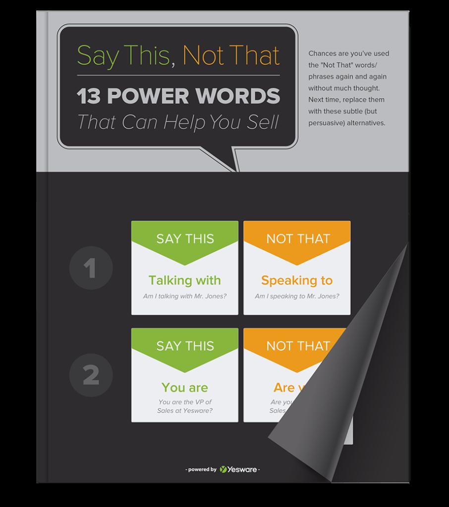 13 Power Words   Yesware