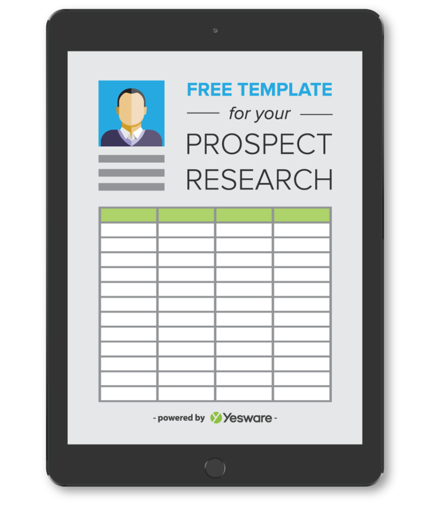 Prospect Research Template | Yesware