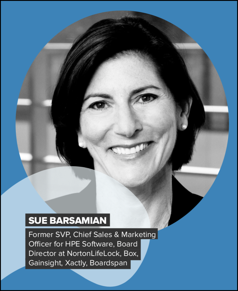 Sales Management: Sue Barsamian from HPE Software