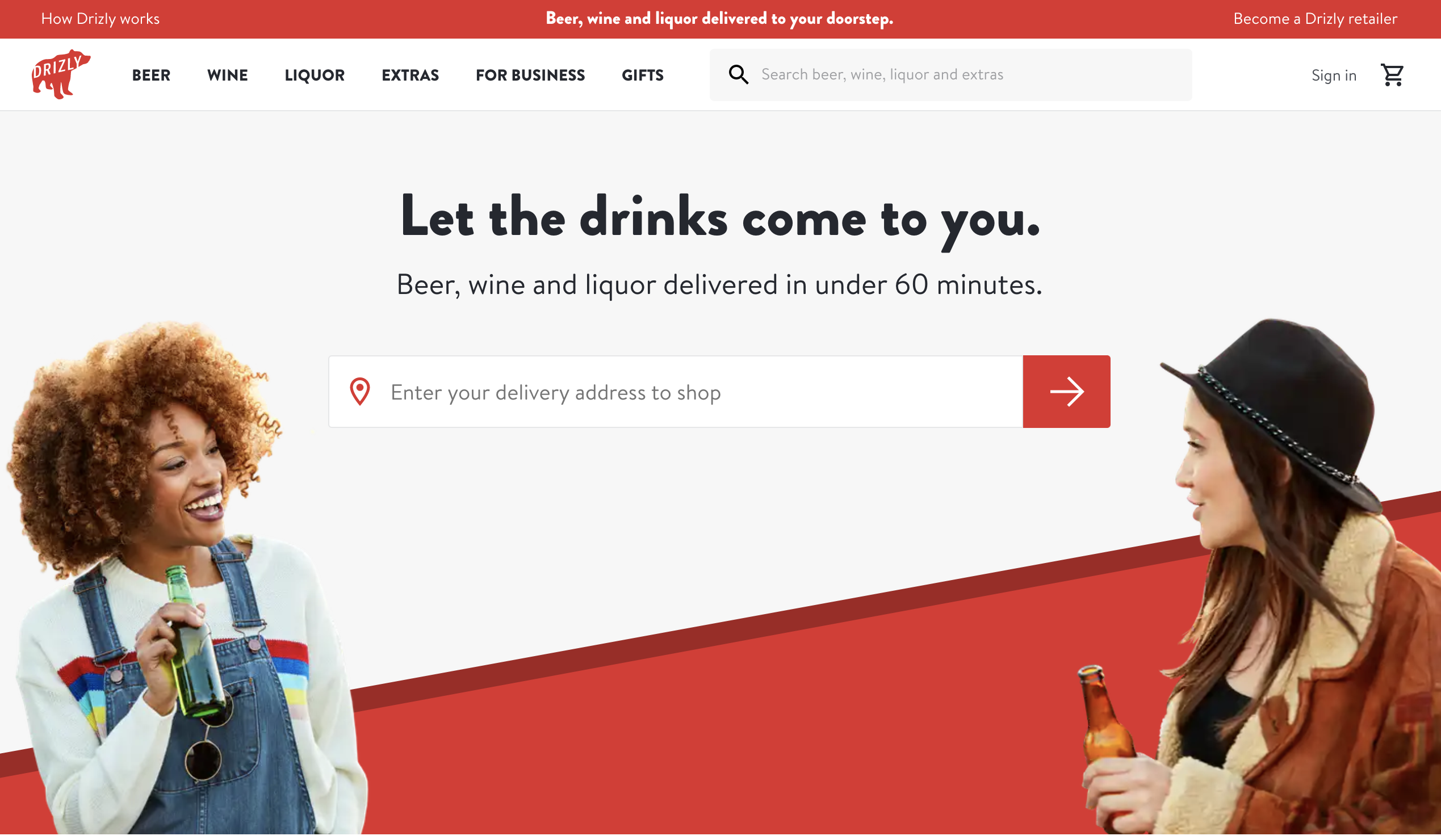 Unique Selling Proposition Examples: Drizly