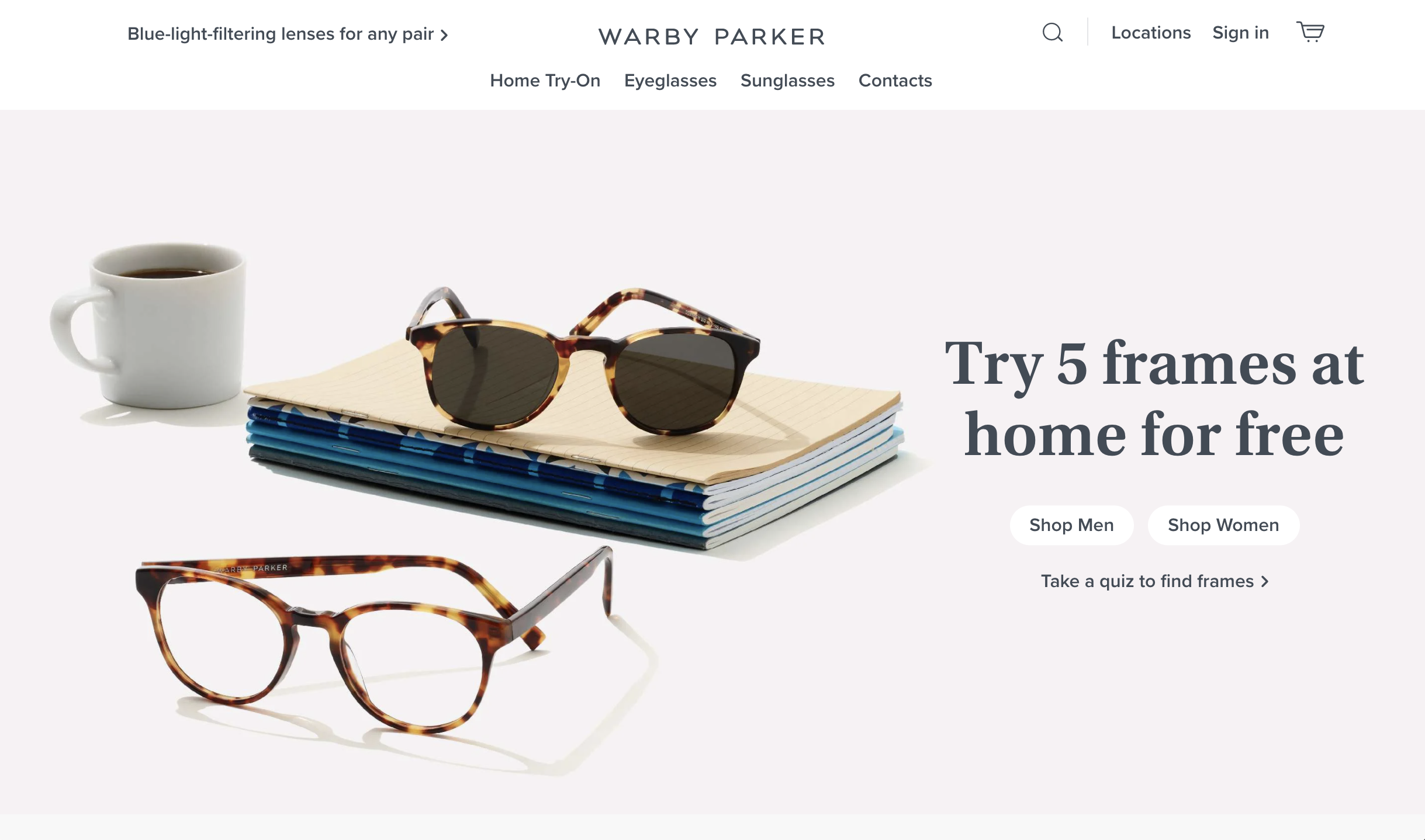 Unique Selling Proposition Examples: Warby Parker