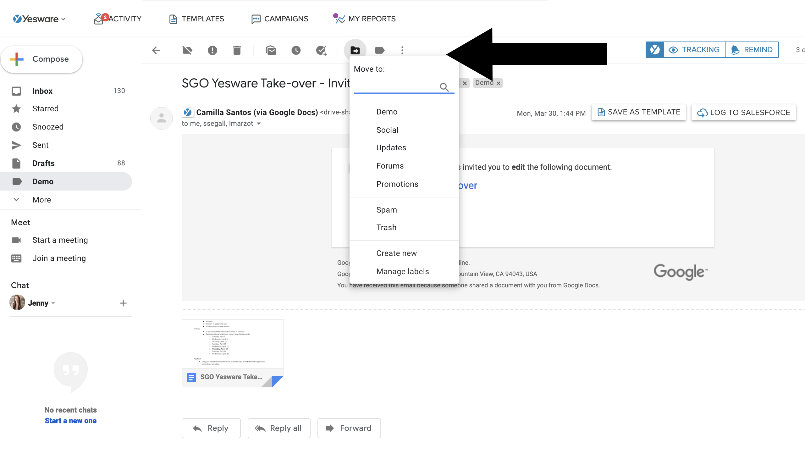 Sales productivity hacks: organize inbox