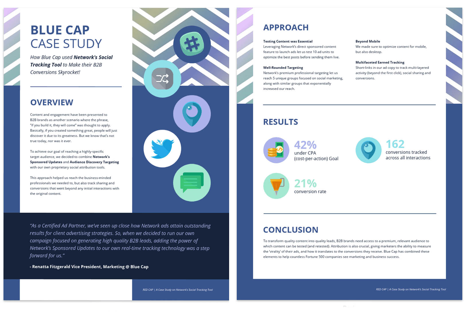 Sales collateral example: case study