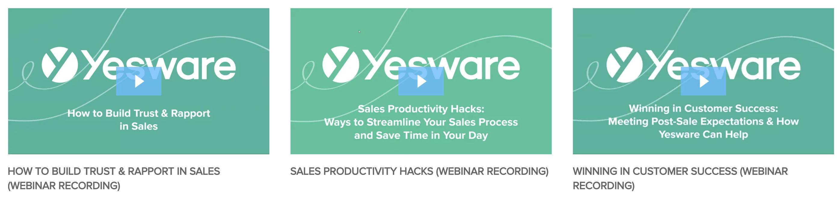 generate sales leads through webinars
