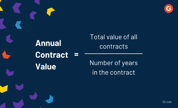 annual contract value in saas sales