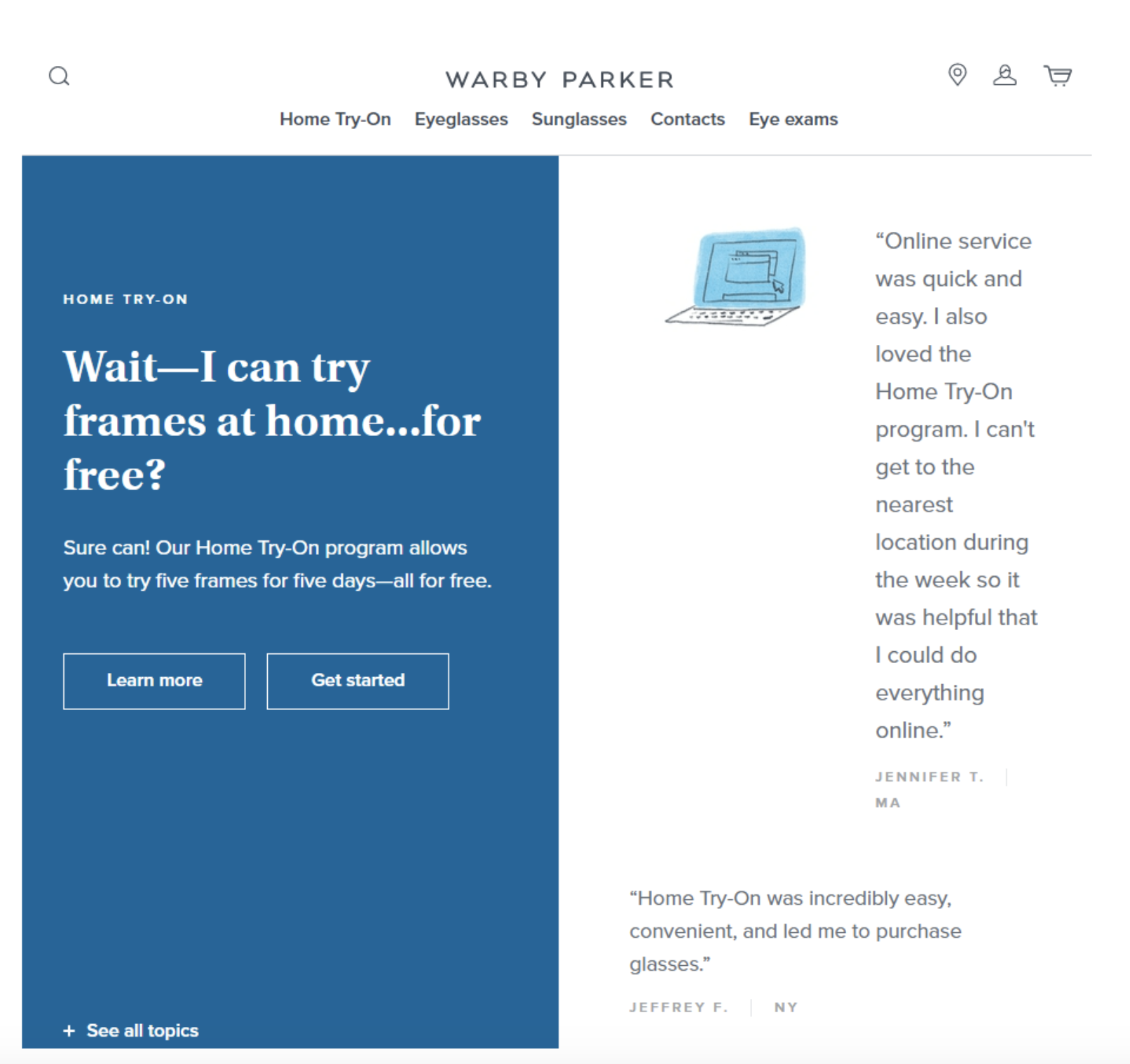 Boost Sales In Ecommerce: Warby Parker