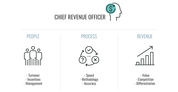 Chief Revenue Officer: people, process, revenue