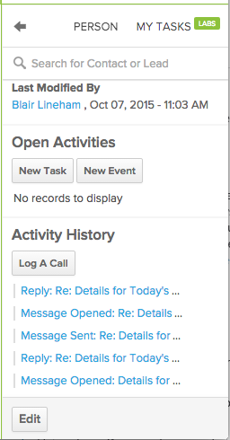 Activity History_Salesforce