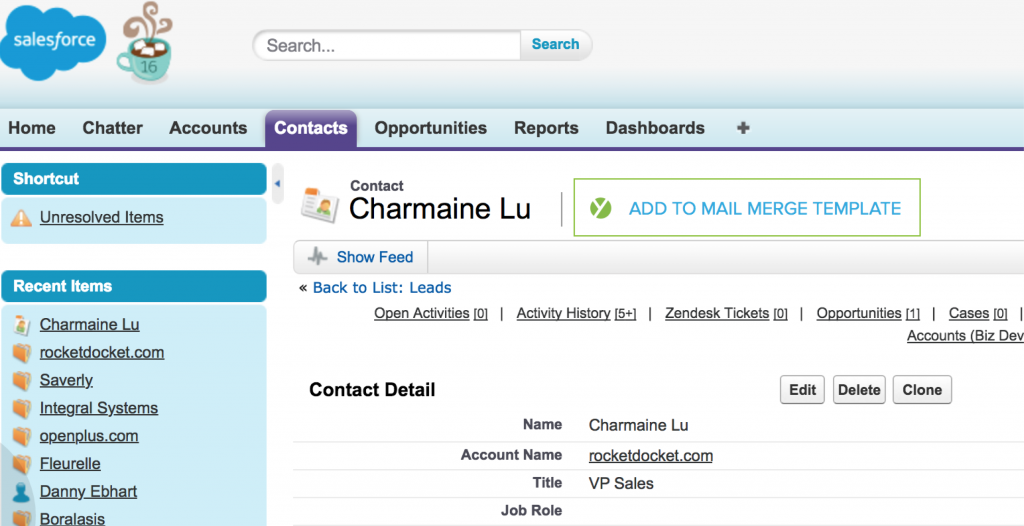 Add to MM from Salesforce_1