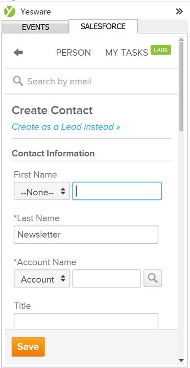 Salesforce Sidebar 2