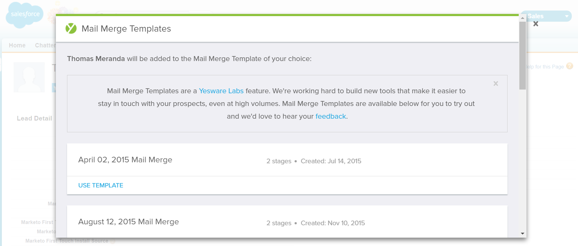 salesforce_select-new-mail-merge-template