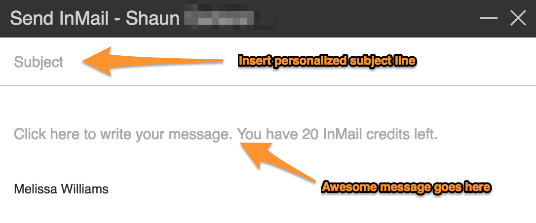 how to use linkedin inmail 3 of 3