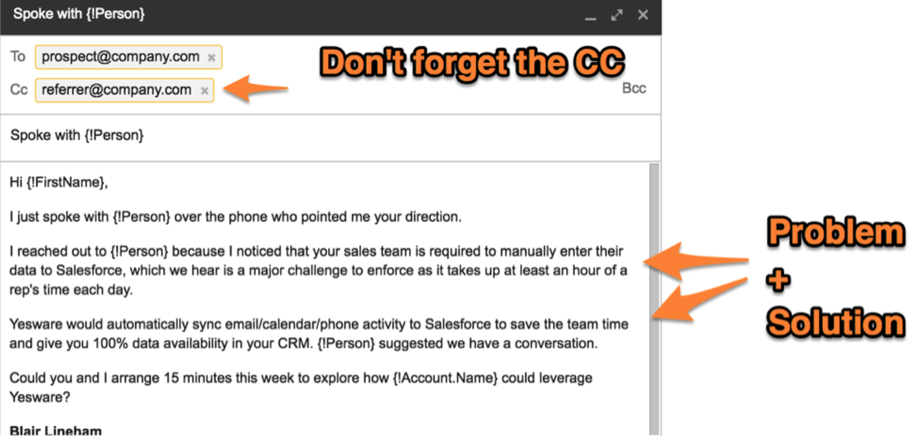 12 Examples of A Follow Up Email Template To Steal Right ...