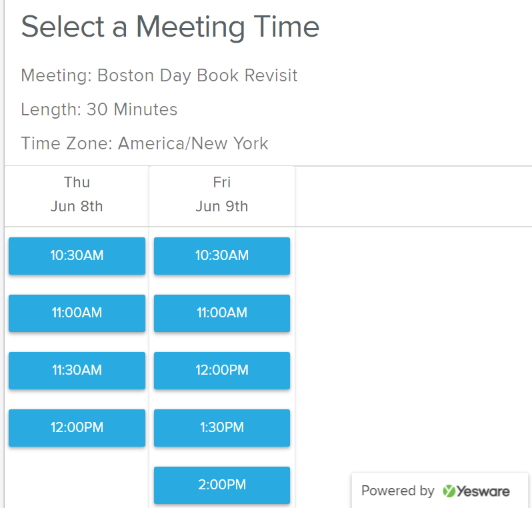 select-a-meeting-time