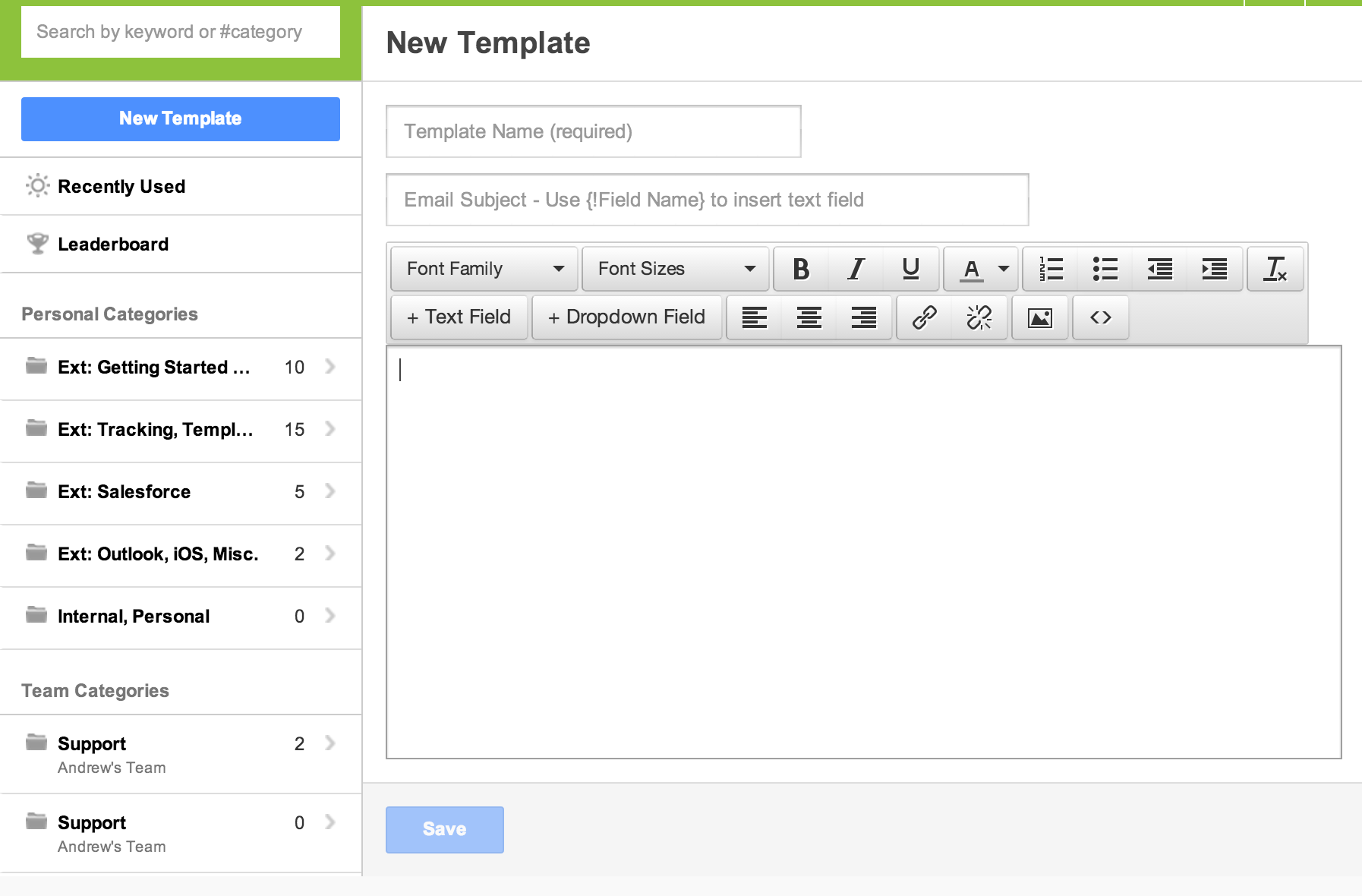 All Things Templates Yesware Blog Yesware Blog - Save email as template