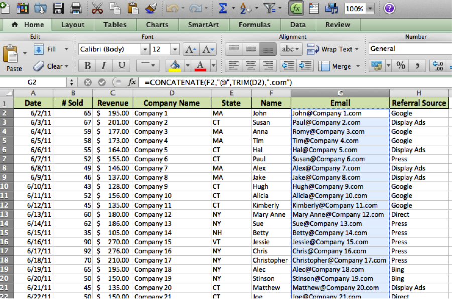 Do More With Your Sales Data Using Text-to-Column in Excel ...