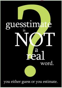 guesstimate