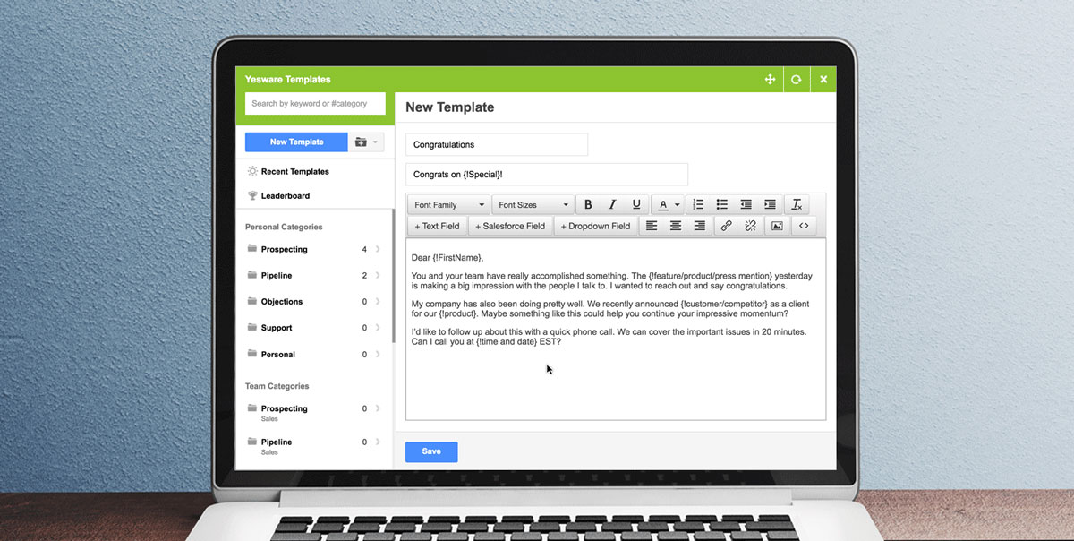 5 Annoying Problems That Gmail Email Templates Solve - Yesware Blog