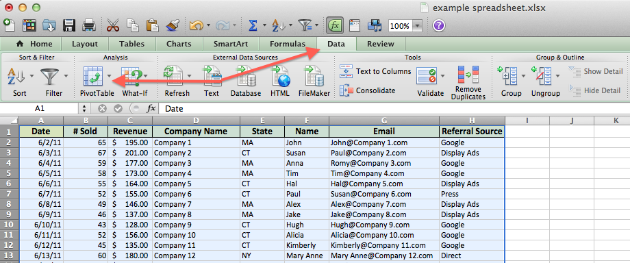 How to Use Pivot Tables in Excel to Build Sweet Sales Reports ...