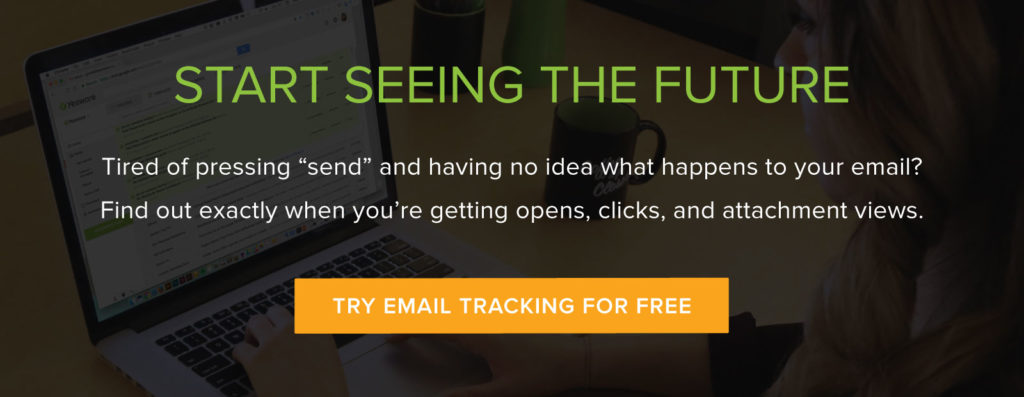 email tracking | how to end an email and track opens