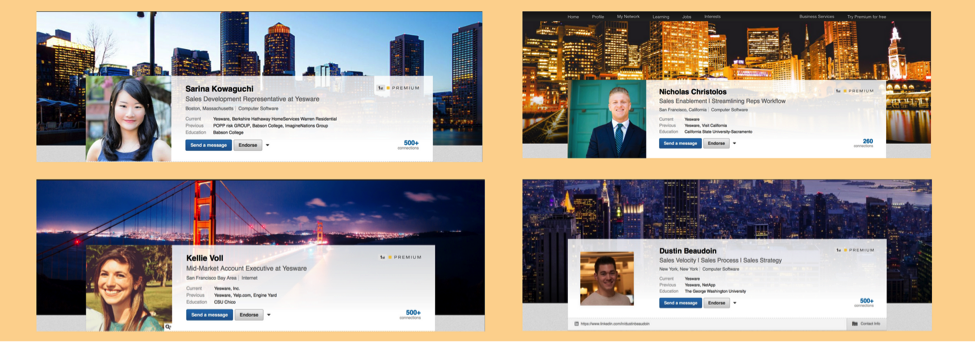 linkedin profile background photo examples