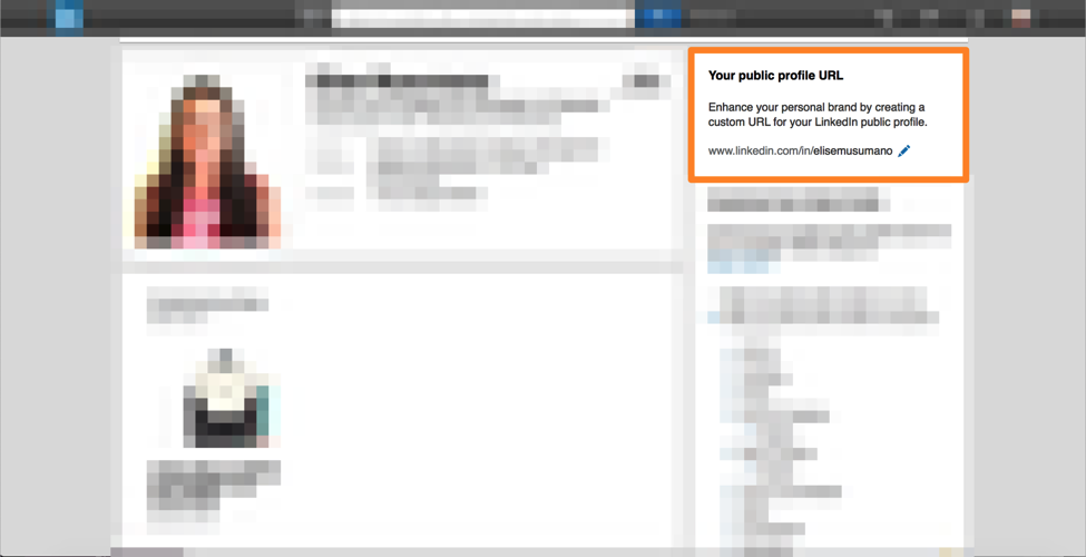 linkedin profile custom url how to