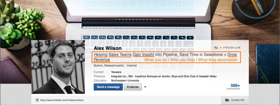 linkedin-profile-good-headline-example