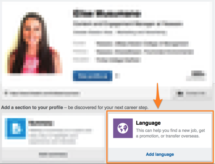 linkedin-profile-language