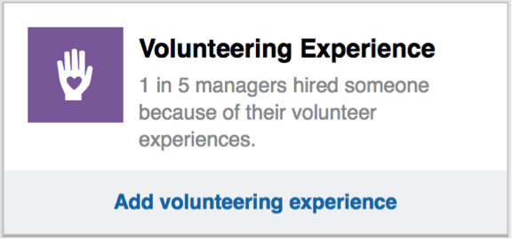 linkedin-profile-volunteer-experience