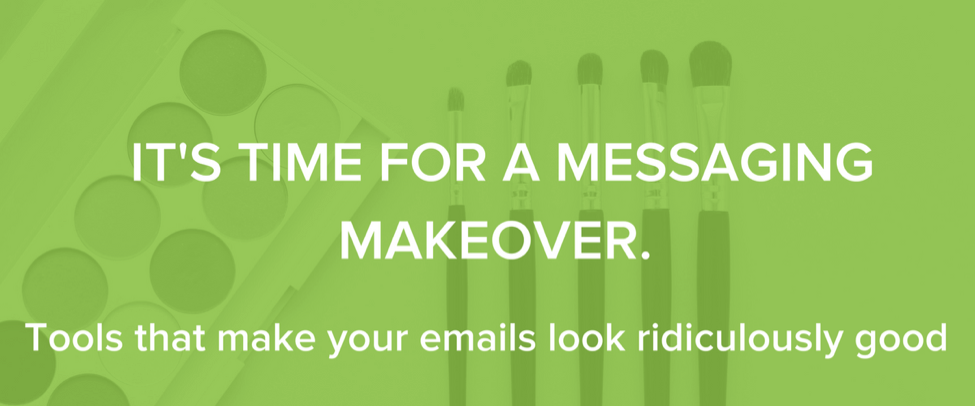 gmail extension messaging-makeover