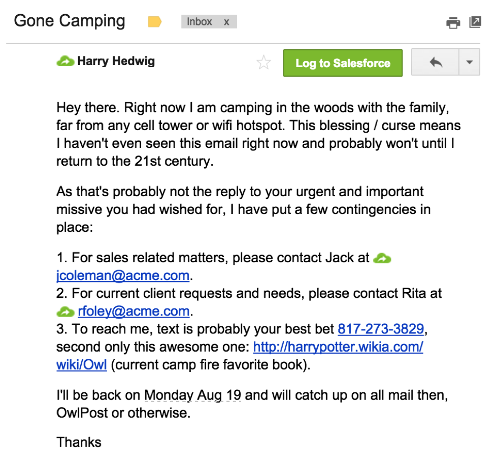 14 Out Of Office Message Examples To Copy For Yourself Right Now