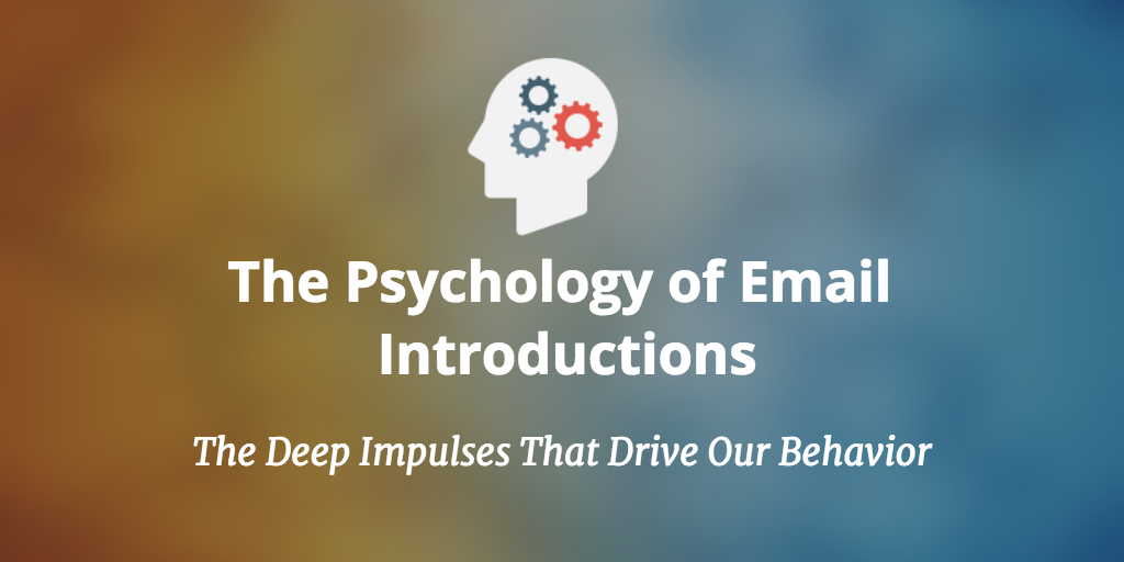 The psychology of email introductions