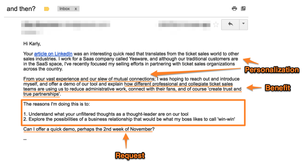 personal selling email1