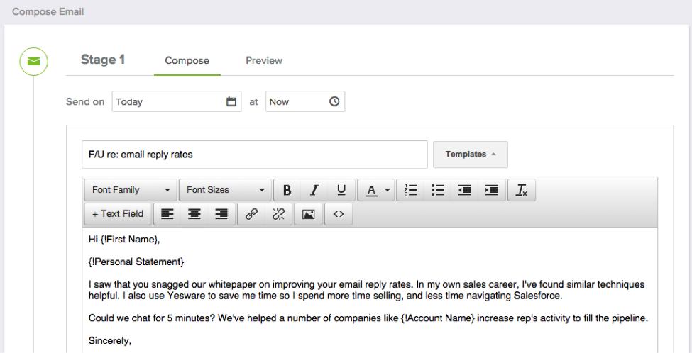 How To Use Yesware S Mail Merge For Gmail Yesware Blog
