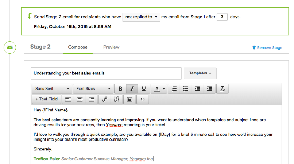 How To Use Yesware'S Mail Merge For Gmail - Yesware Blog