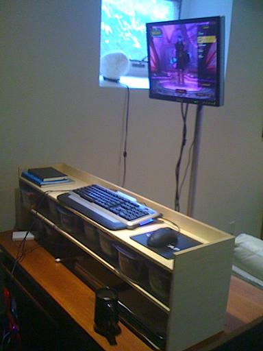Standing Desk Gaming Mode
