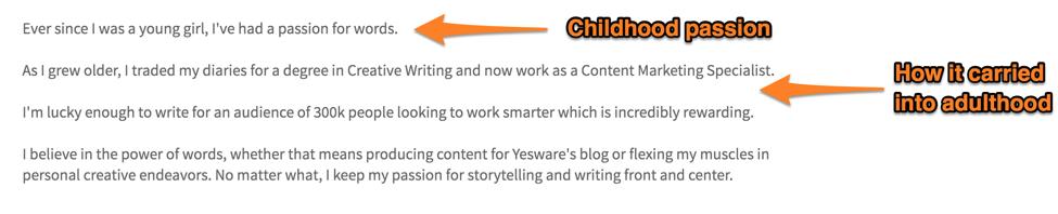 Linkedin Summary Examples  Work Summary Examples